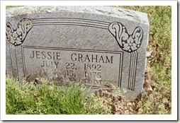 Jessie Graham Grave Marker