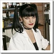 Photo of Abby Sciuto, not Evisa Graham.