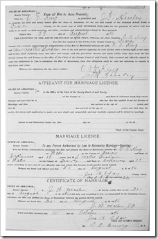 King Mollie Graham Marriage Detail