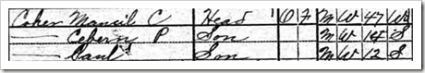 Coker 1920 Census