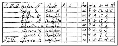 Eliza 1930 Census