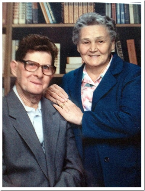 Charles and Ruby Watts 1987