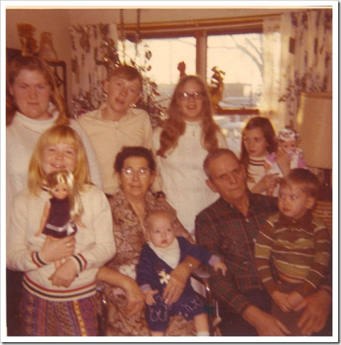 Graham Clan Christmas 1970