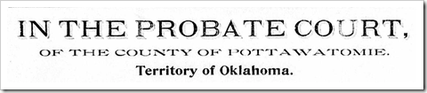 OT Probate Court Heading