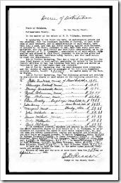 Judge's Decree